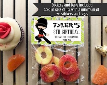 Ninja Birthday Party, Ninja Birthday Favors, Ninjas, Ninja Party Favors, Ninja Party, Spy Party, Spy Birthday Favors, Boys and Girls