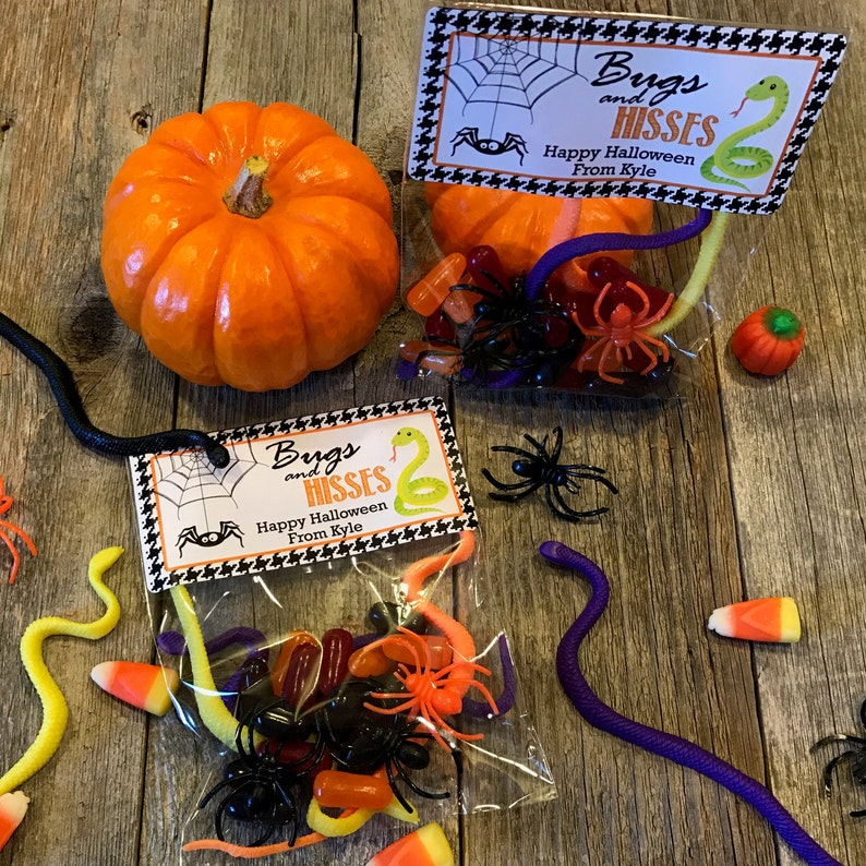 Bugs and Hisses Halloween Party Bags Halloween Party Favors image 0