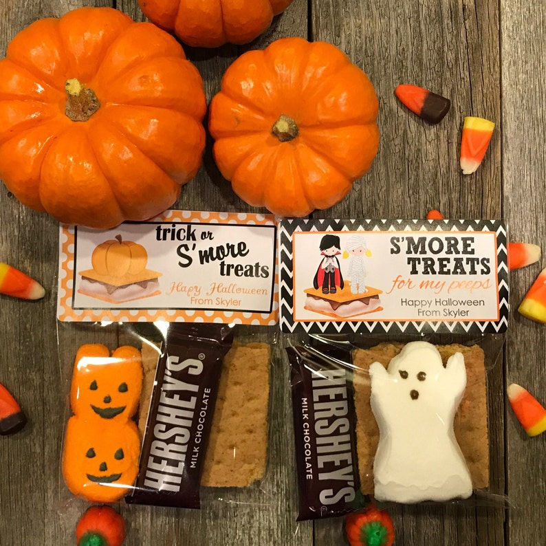 S'mores Halloween Party Bags Camping Halloween Party image 0