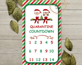 Elf Countdown Etsy