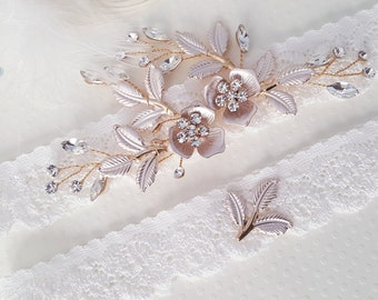 Wedding Garter Lace Wedding Garter Set Bridal Garter Set Etsy