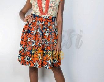 SALE:  Wura Ankara Dress