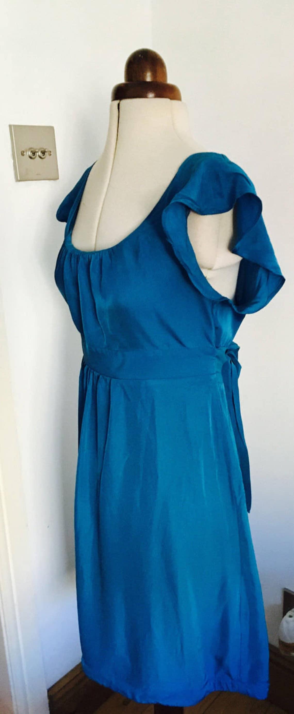 1940's Vintage Tea Dress 40's Dress War Bride Dress