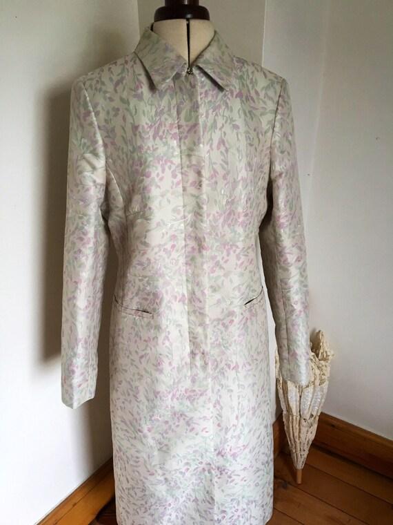 Vintage Brokat Gehrock Hochzeit Mantel Braut Mutter Der Etsy