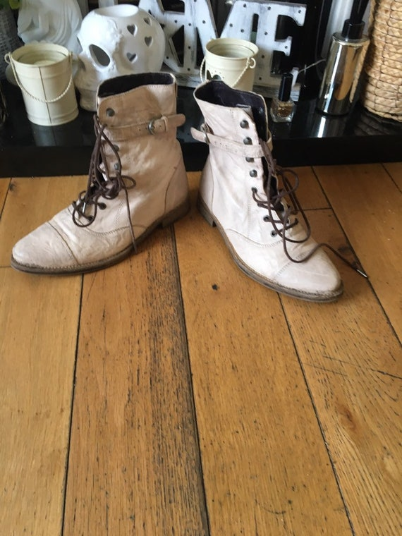 Ladies ,Military Boots, Vintage All Saints Militar