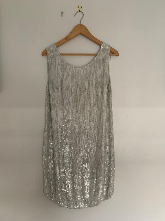 Flapper Dress, 1930s style, Vintage Dress, Sequin