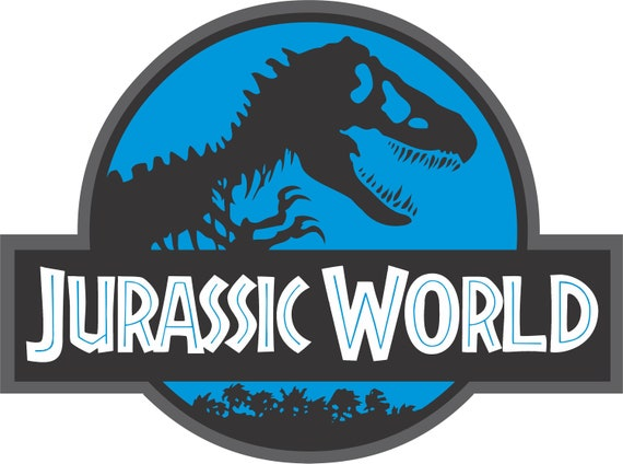 Jurassic World Logo Jurassic World Logo Vector Jurassic Etsy