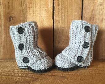 Crochet Baby Boots Baby Boots Baby Wrap Boots Baby Etsy