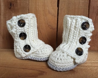 Crochet baby boots,  baby boots, baby wrap boots, baby accessory, baby girl, baby boy, baby gift, baby booties