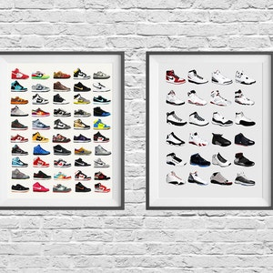 Nike Poster Nike Dunks Affiche chaussures Affiche mode   Etsy