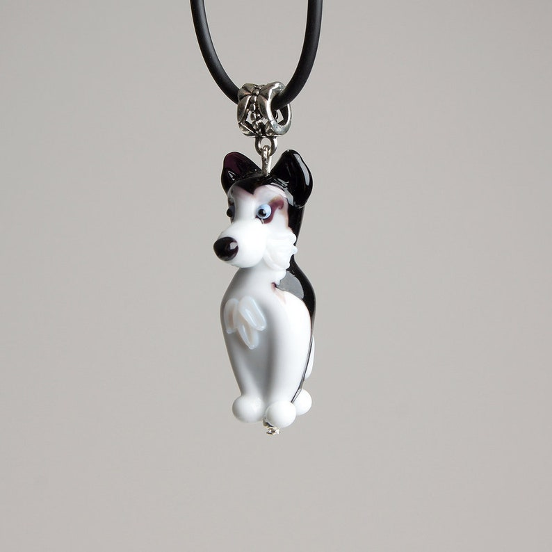 Siberian husky jewelry pendant Sterling Silver Dog jewelry Necklace-Personalized Pet Necklace