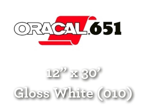 "12/"" Oracal 651  Adhesive Vinyl Craft hobby//sign maker//cutter ,3 Rolls@ 5/' Ea."