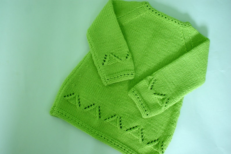 Hand Knit Toddler Dress Toddler Long Sleeve Dress Green Toddler Girl Knit Dress Green Dress for Toddler