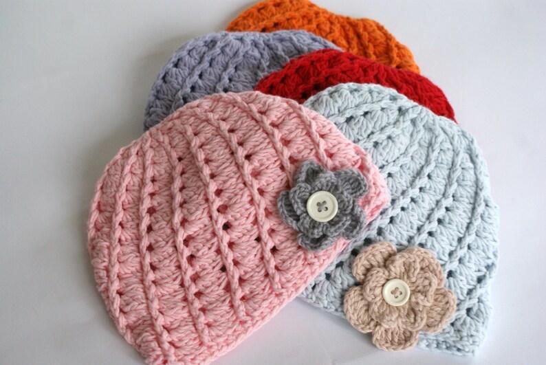 Cappello Neonato Uncinetto Uncinetto Cappello Cappello Etsy