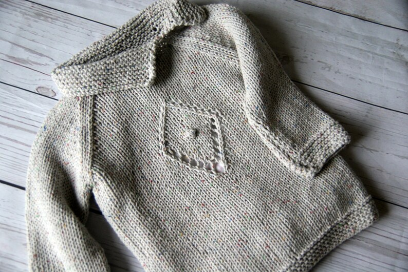 331fb5176abb Grey sweater baby girl Hand knitted sweater girls baby girl