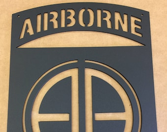 Airborne Wall Plaque