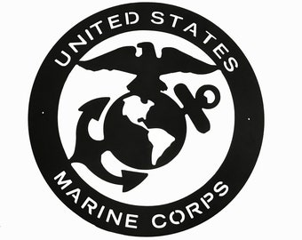 Marine Corps Wall Plaque