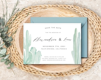 Desert Wedding Save the Date - The Sonora Suite