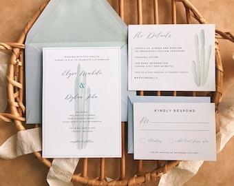 Desert Wedding Invitation Set Digital Download - The Sonora Invitation Suite