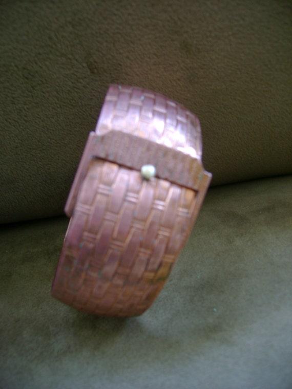 Copper Bracelet 1940s