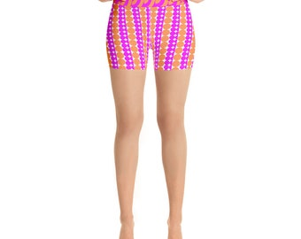 Women/'s Yoga Shorts designed by Ben More