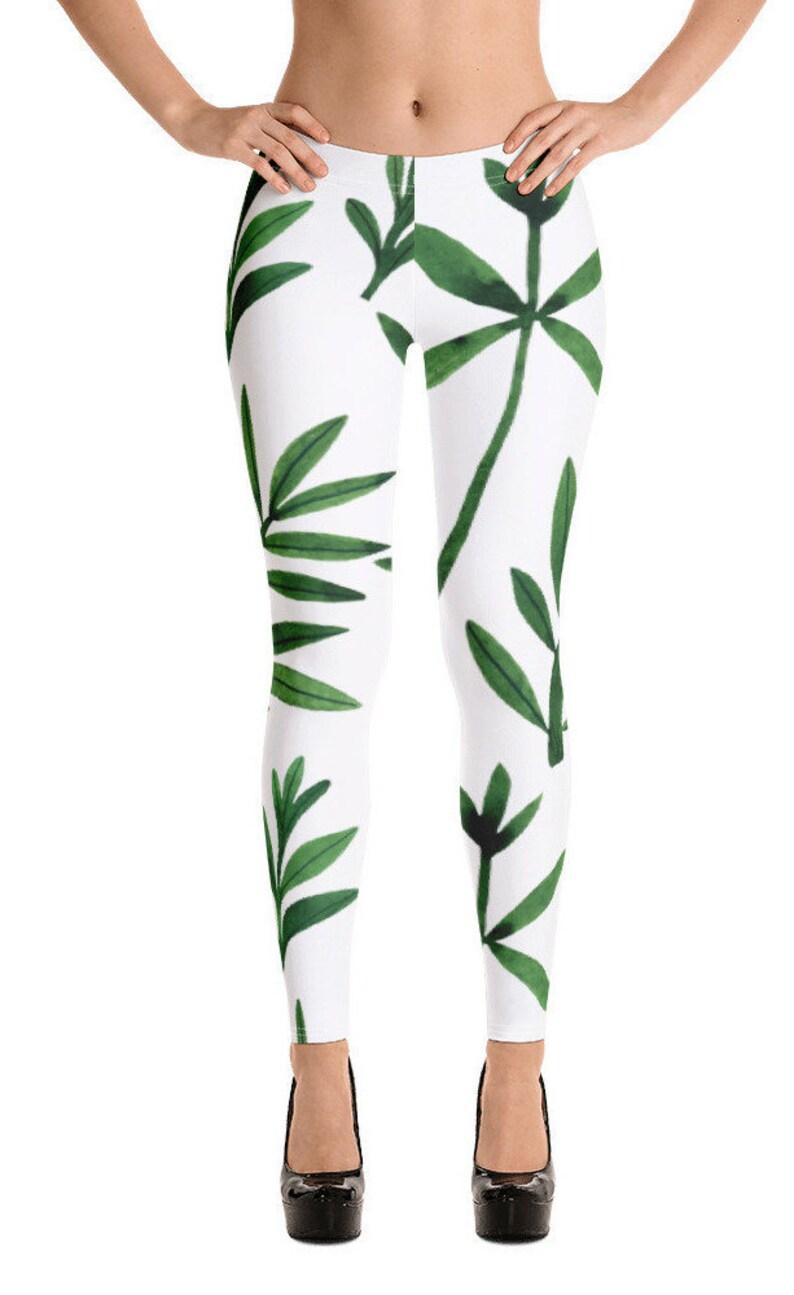 leaf pattern a Ben More design Women/'s Leggings