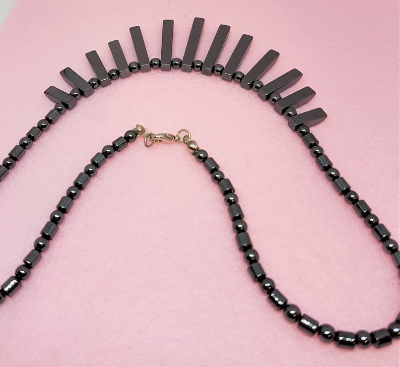 bib necklace gifts for women jewelry gift Vintage high choker bib choker metal choker dark choker collar necklace 1980s necklace