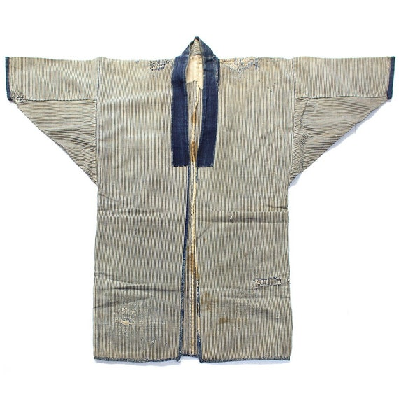 Farmers Sashiko Repaired Shima Coat