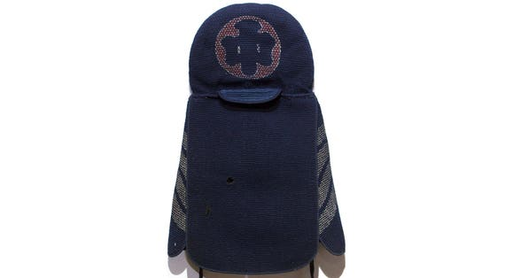 Sashiko Fireman's Hat - FREE SHIPPING