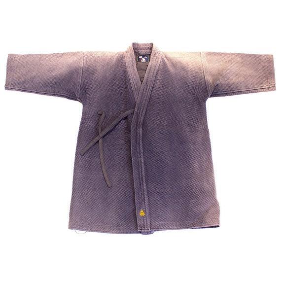 Vintage Kendo Jacket with Sashiko Stitching