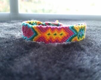 Fiesta friendship bracelet