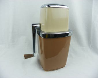 Vintage Swing-A-Way Ice Crusher Mid Century  (FREE SHIPPING)