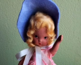 All In Pink Nancy Ann Doll—Silk and Satins #168
