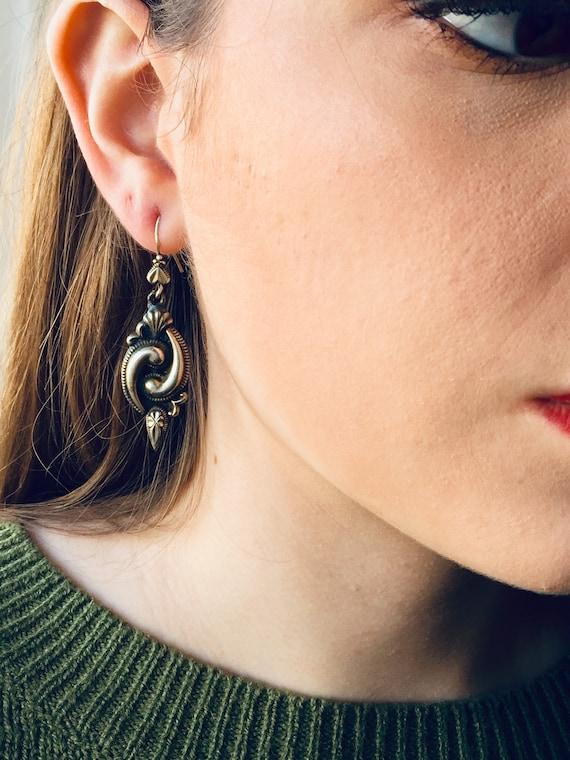 Paisley Lady Boho Dangle Earrings