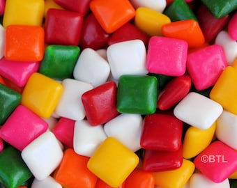 Chiclets Gum Abstract Fine Art Print