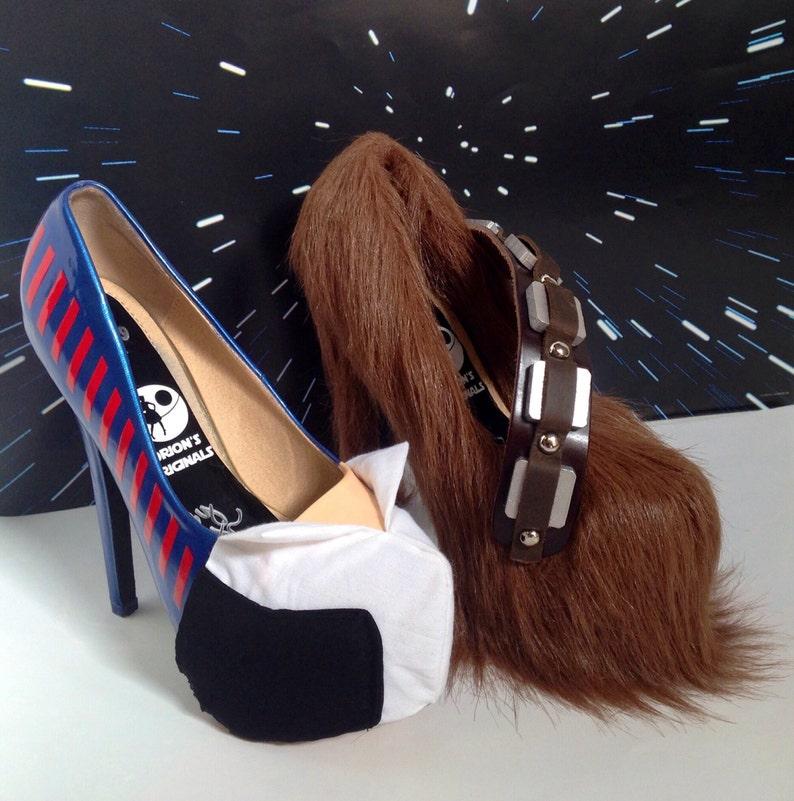Solo & Wookiee heels image 0