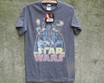 b705e751 Vintage T Shirt Star Wars NOS Paper Thin A New Hope Lucasfilm Original  Disney Tag Attached