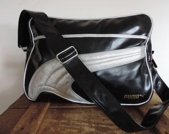 Puma Sports Bag Travel Bag Puma Athletics Carry On Shoulder Bag Team Sports  Luggage Gym Bag f2a143e5b7794