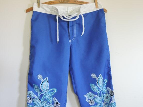 Vintage Guess Jeans Cropped Capri's   Surf Pants L