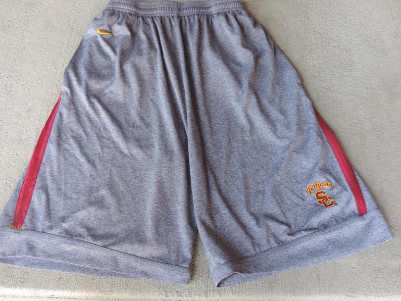 huge discount 38646 06509 USC Nike Basketball Shorts NCAA Sportswear Authentic Nike Fit   Etsy