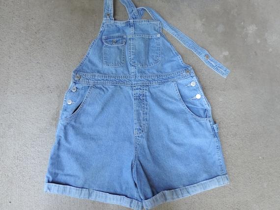 90's GAP Overalls Shorts Over Sized  Women's Girl'