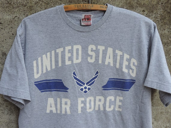 798c9491 Vintage T Shirt United States Air Force Wings Logo T- Shirt size M