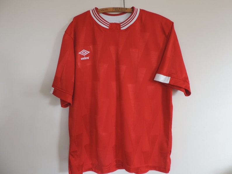b2d30fc93 90 s UMBRO Soccer Jersey Athleisure Umbro Authenthic