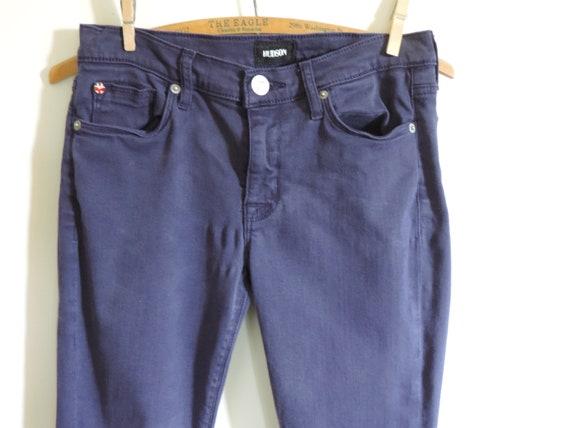 Ladies Skinny Jeans Purple Super Skinny Ankle Huds