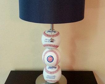 chicago cubs baseball lamp - Baseball Lamp