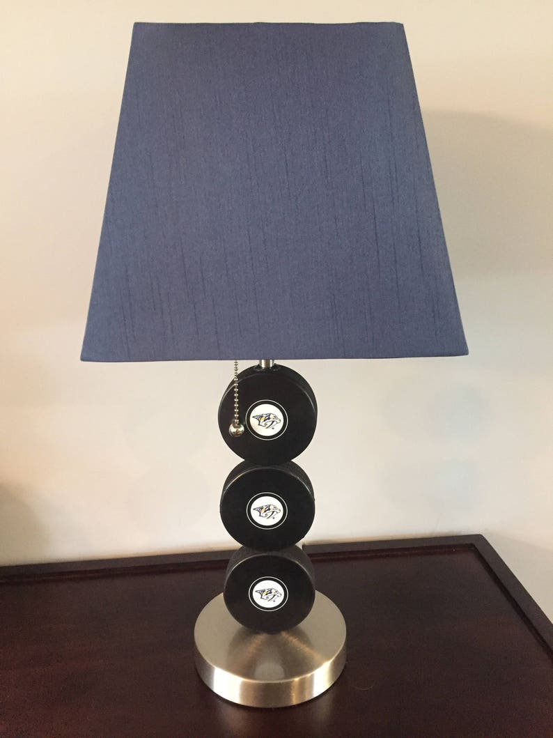 Nashville Predators  Fan Hockey Lamp