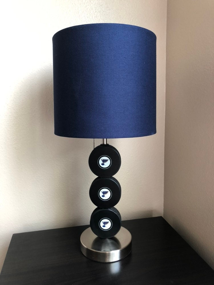 St Louis Blues Fan Hockey Lamp