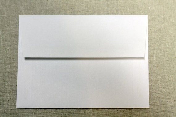 25 5x7 white envelopes a7 size envelopes true size 5 etsy
