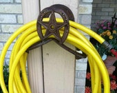 Hose Holder - Rope Holder - Rustic Decor - Western Home Decor - Cowboy Decor
