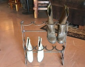 Boot Holder-4 pair boots-stacked or horizontal